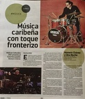 "ON ""VAMOS"" MAGAZINE JUAREZ MEXICO"