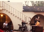 JAZZ AT GARNER HOUSE CLAREMONT CA.